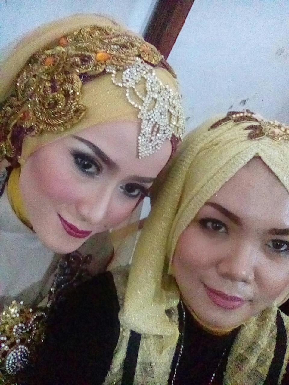 Contoh Model Hijab Modern Untuk Pengantin Muslimah Layanan Pesta