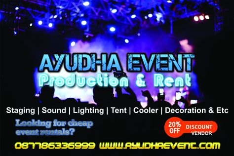 Alat Pesta 089666136999 Ayudha Wedding Event